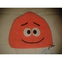Gorro Tejido A Mano Crochet Patricio Estrella
