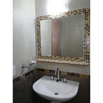 Espejo Venecitas Estante 80x60