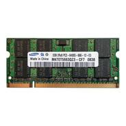 Memoria Ram Ddr2 2gb 800mhz Sodimm Nuevas Samsung - Notebook