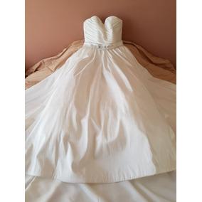 Vestido De Novia Marca Madeline Gardner (talla 6-8)