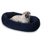 Majestic Dog Bagel Pet Bed Xlarge Blue