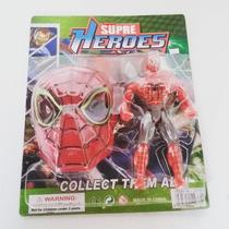Mascara Infantil Com Heróis - Cartelado
