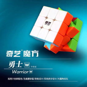 Cubo Rubik Qiyi Warrior W 3x3x3 + Base Isf