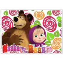 Masha E O Urso - Chaveiros - Acrílico Personalizado Kit