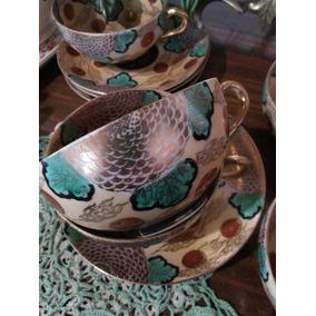 Taza De Té Antigua,divina!fino Diseño De Origen Oriental!