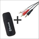 Receptor Bluetooth Adaptador P2 Audio Usb + Cabo P2 X Rca Fg