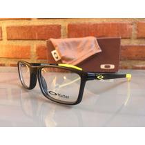 Armação Óculos De Grau Oakley Pitchman Original Frete Gratis