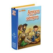Biblia De Niños Amigos Por Siempre Azul Reina Valera 1960
