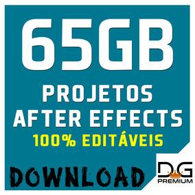 Projetos After Effects - 65gb De Conteúdo - Chroma Key -