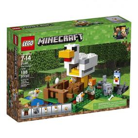 Lego Minecraft O Galinheiro 21140 - Lego