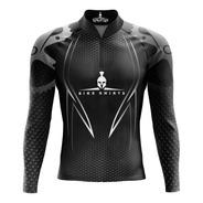 Camiseta Ciclista (f) Spartan-m/ L- Dryfit - Ref 08 - Uv 50+