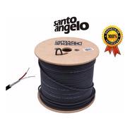 300m Cabo Balanceado Santo Angelo X30 P/ Microfone 0,30mm2