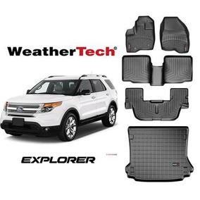 Bandeja Weathertech Ford Explorer 2011 - 2018