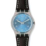 Reloj Swatch Gm415 Cuero Marrón Hombre