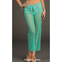 Pareo Unitalla Tipo Pantalon Marina West Ns010 Mint