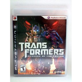 Transformers Revenge Of The Fallen Ps3 Nuevo Sellado