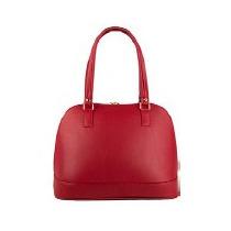 Bolso, Bolsa Casual Dama Color Rojo Elegante Abertura Amplia
