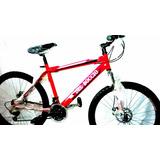 Bicicleta Montañera Rin 26 Del Boccio Con Repuestos Shimano
