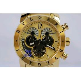 01f296b5098 Relogio Bulgari Iron Man Automatico Masculino - Relógios De Pulso no ...