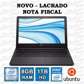 Notebook Dell Inspiron 5566 D50p Core I7 7º Ger 8gb 1tb Novo