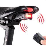 Alarme Bicicleta Bike Wifi C/ Controle Remoto E Função Pisca
