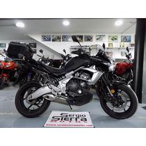 Kawasaki Versys650 Negra 2010 Maletero