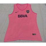 Nueva Remera Dama Musculosa Boca Juniors Rosa, Blanco, Azul!