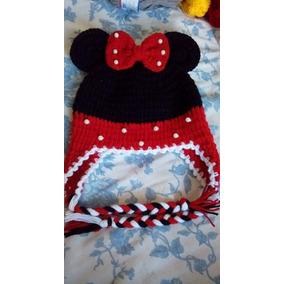 Touca Gorro Croche Mickey Ou Minnie Batman Capitao Minions bb6a5c80f86