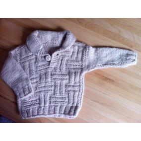 Nuevo: Suéter * Tejido A Mano * Para Niño/niña De 24 Meses