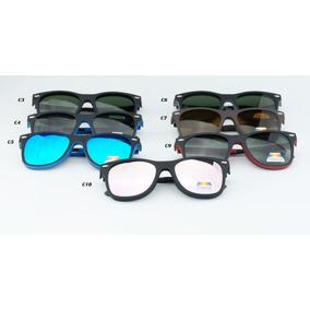 21b754f27d3e5 Clip On Escuro M14 Uv400 Adapta Se Ao Seu Óculos De Grau Sol ...