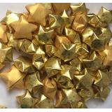 Estrellas Adorno Navideño Papel Origami