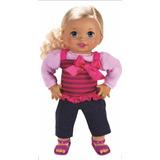 Mi Bebita Interactiva Little Mommy Español X5165 Mattel