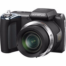 Camara Semiprofesional Digital 16mp 21x Olympus + Estuche