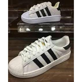 c42e707cee Tenis Infantil 33 34 Adidas - Tênis Adidas Branco no Mercado Livre ...