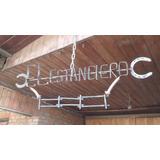 Letreros En Fierro Forjado Herradura Y Clavo De Ferrocarril