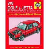 Diagrama Electrico Manual De Taller Jetta Golf A2 84 A 92