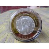 Moneda Mexico Imperio Max 100 Pesos Herencia Numismatica