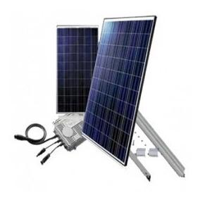Planta Solar 500w A 110v/220v Domestica/comercial On Grid