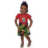 Vestidos Bellos De Niñas Casuales De Algodón H4436 Rym