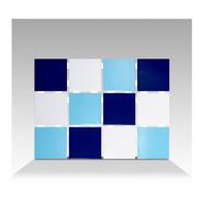 Venecita Pileta Vulcano Color Mix Azul Precio M2 - Caja 1.95