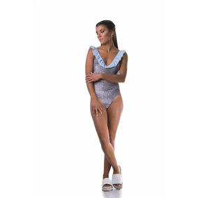 Traje De Baño Mujer - Angela O Swimwear - Volado