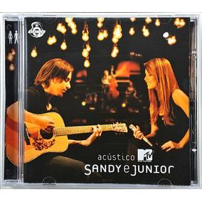 Cd Sandy E Junior - Acustico - Novo, Original E Lacrado
