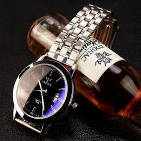 Reloj De Cuarzo Bussines Class Marca Yazole C/estuche