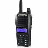 Rádio Ht Comunicador 5w Baofeng Dual Band Uv-82 Rádio Fm