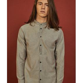 Camisa Granada Cuello Mao