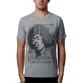 Camiseta Jimi Hendrix Blusas Moletom Regatas Bandas Rock