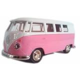 Kombi Rosa Classical Bus 12 Cm 1962 Van Volkswagen