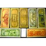 Lote 7 Billetes Soles De Oro Años Variados Peru