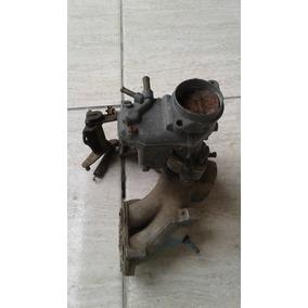 Carburador Gas Com Coletor De Admissão Fiat Uno Original