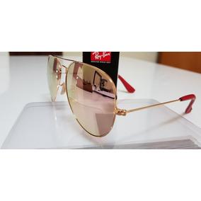 9920d23b1cdca Ray Ban Aviator Lente Espelhada E Polarizada - Óculos no Mercado ...